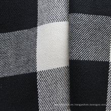 Tela de tela escocesa teñida de cáñamo (QF13-0074)