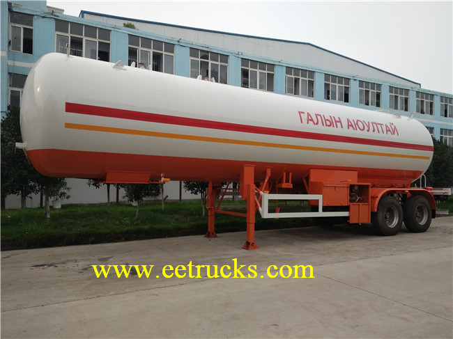 LPG Gas Trailer Tanks