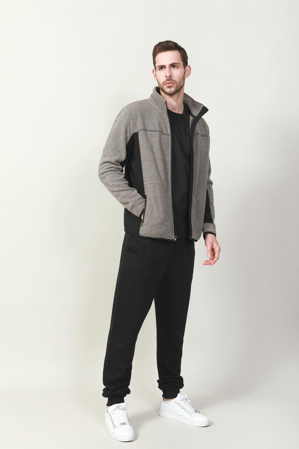 men's bonded fashion jacket
