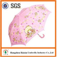 Professional Auto Open Cute Printing fox kids umbrella