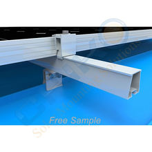 New arrival Solar Trapezoidal Metal Roof Clamp non-drilling solution