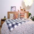 Double Brushed Bedding Sheet Set Mikrofaser-Bettdecke
