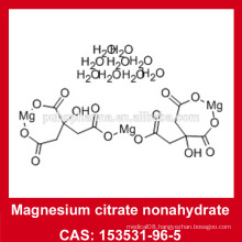 EP7.0/USP35 Magnesium citrate nonahydrate powder 153531-96-5 Magnesium citrate with 9 water