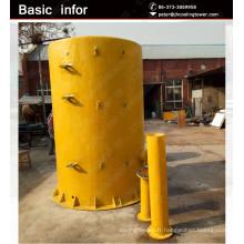 JIAHUI grande capacité réservoirs de stockage de produits chimiques FRP