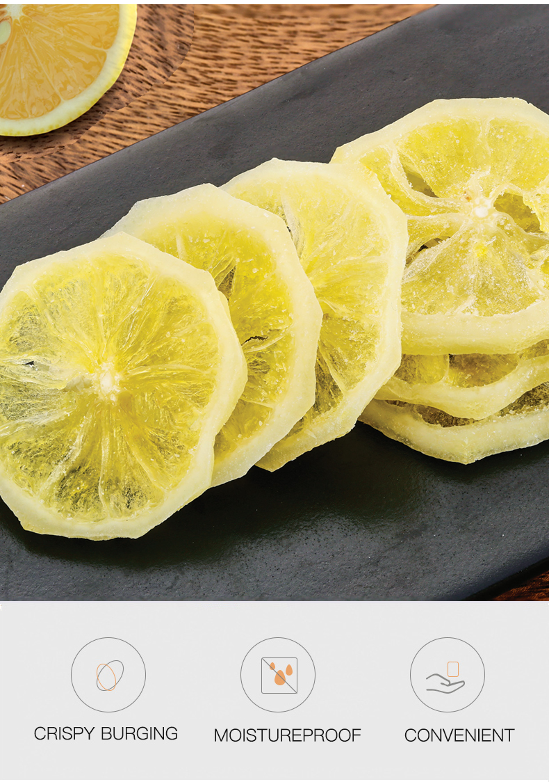 Dried and Sweet Lemon Slices