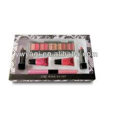 Cosmétique mis faire T143 paramétré pour jeune fille Lipglossl, ombres à paupières et rouge à lèvres
