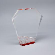 Custom Engraved Glass Plaque And Award