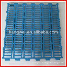 2013 nouveau plancher de dalle en plastique dur pour porcs