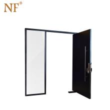 Aluminium alloy sound insulation pivot exterior doors