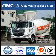 Caminhão do misturador de cimento de C & C 380HP 6X4
