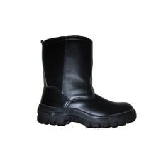 Черный инъекции ПУ Подошва ботинки безопасности рабочего