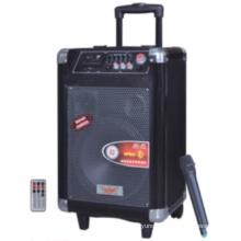 Double 8inch Wireless Trolley Speaker 624t