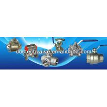 Mini Single Ball Valve Thread (BSP/BSPT/NPT) End Stainless Steel /WCB