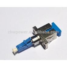 Free amostra diretamente comprar china lc fêmea sc macho adaptador de fibra, plástico lc sc adaptador de fibra óptica com preço barato