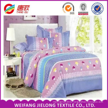 Small mushroom printing cotton fabric for cotton bedding fabric