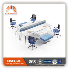 (MFC)PT-03 stainless steel frame office furniture high quality for 4 persons workstation