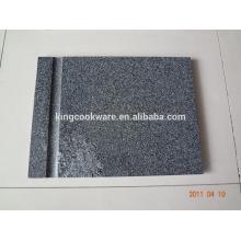 rectangular black granite cheese chopping board cutting board