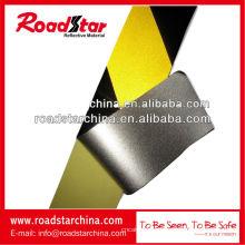 cinta barricada precaución de seguridad negro amarillo