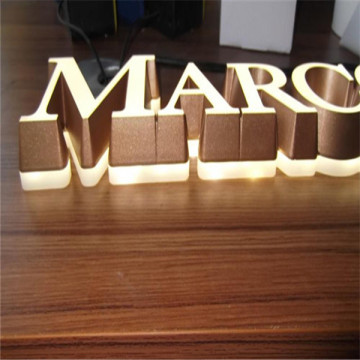 LED al aire libre Embedded acrílico Letters Signs