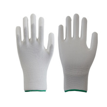 Knitted ESD Carbon PU Top Fit Gloves Made in China