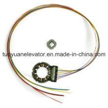 Codificador rotativo para motor de porta
