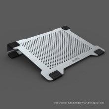 Double ventilateur en aluminium de 14inch