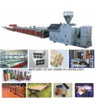 PP PE PVC Profile Extrusion Line/PP PVC Profile Making Machine