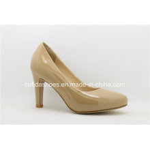 New Arrival Fashion High Heels Women Leather Shoes