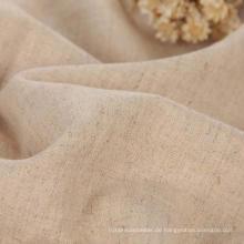 100% Leinenstoff, 14s Leinen Uni Fabric Leinen Shirting Stoff