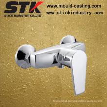 Wasser-Hahn für Dusche-Kopf, heißer und kalter Wasser-Sensor-Toilettenhahn, einzelne Hebel-Hahn-Dusche