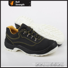 Geniune Leather Safety Shoes with Steel Toe and TPU Outsole (SN5274)
