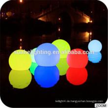 Weihnachten Farbe ändern LED Ball Kunststoff Material Outdoor Dekoration Wasserdicht Led Solar Ball Licht / Party & Events Möbel