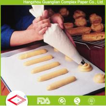 12 pulgadas por 16 pulgadas antiadherentes del silicón del pergamino de la bandeja Liners Cookie Baking