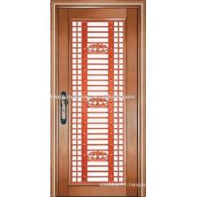 luxury copper door villa door exterior door single door KK-723