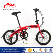 Alibaba 2017 heißer verkauf und gute qualität 20 zoll erwachsenen faltfahrrad / bunte fahrrad / klappfahrräder zum verkauf