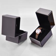 Boîte à bijoux de montre de luxe noire