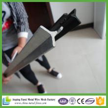 1.9kg Black Pinted Steel Star Picket