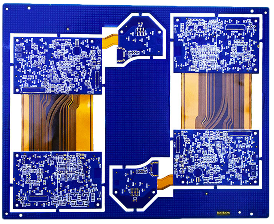 14 Layer Buried Blind Via Rigid Flexible PCB