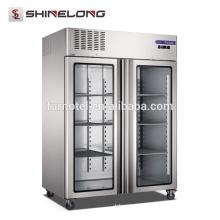 FRCF-6-1 FURNOTEL 2 Puertas de vidrio Refrigerador y congelador 1350 L de capacidad