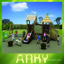 Safe Kindergarten Exterior Play castle Equipment