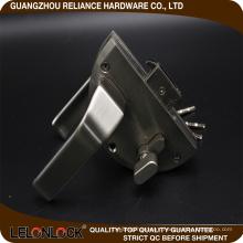 Unique design hot selling type zinc alloy glass door floor lock lever hot export type