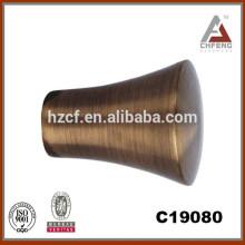 Barra de la cortina de la aleación de aluminio / barra oval de la cortina / barra al por mayor de la tensión nuevos diseños