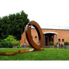 art deco riproduzioni Skulptur aus Metall oder Cortenstahl für den Garten