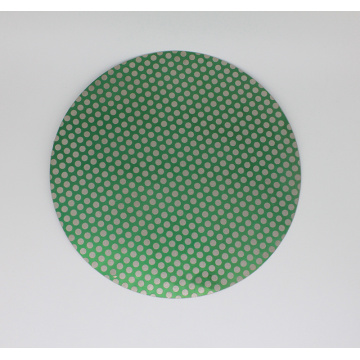 Disque plat de meulage à motif de points de diamant de 24 po de 60 grains