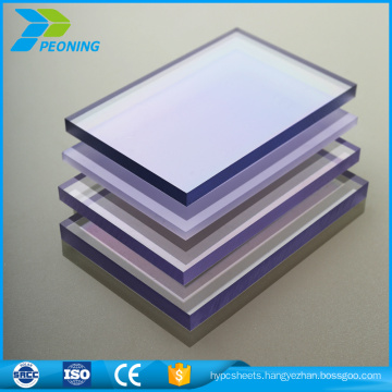 chinese supplier clear polycarbonate sheet