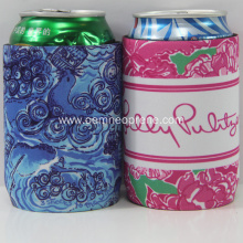 Custom neoprene cool stubby holder with logo printing