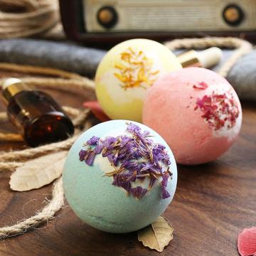 Handmade Colorful Natural Organic Fizzy Bath Bombs