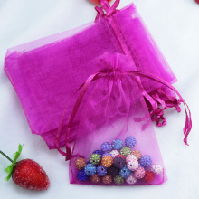Jewelry packaging custom logo organza gift pouch