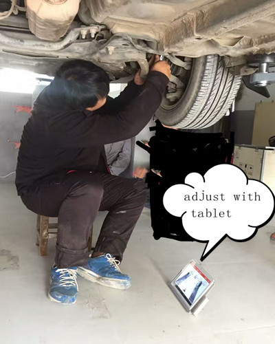 Sucvary Wireless Wheel Alignment