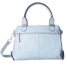 Metro Simplicity Front Zip Fashion Ladies PU Satchel Bag (ZX20067)